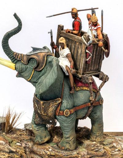Elefante da guerra cartaginese (III sec. A.C.)