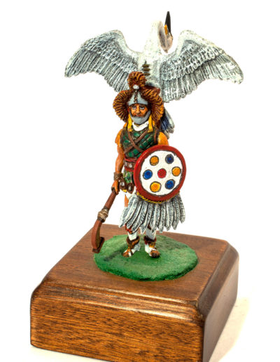 Guerriero cigno (civiltà Maya XV sec.)
