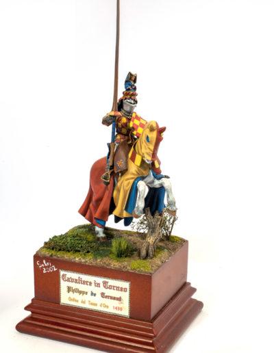 Cavaliere di torneo Philppe De Bernard