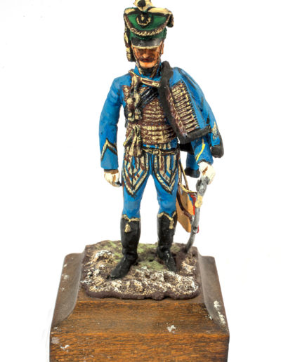 Austrian Empire. Officer of the Hussars - Stipsicz Regiment
