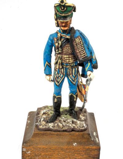 Impero austriaco. Ufficiale degli Ussari - Reggimento Stipsicz