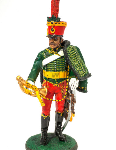 Austrian Empire - Trumpeter of the 5th RGT Hussars in full uniform (1805)