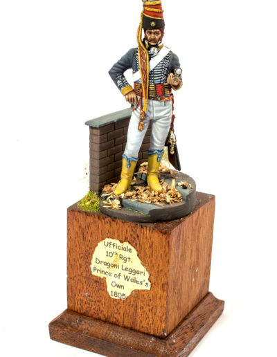 Ufficiale 10th RGT Dragoni Leggeri Prince of Wale's Own