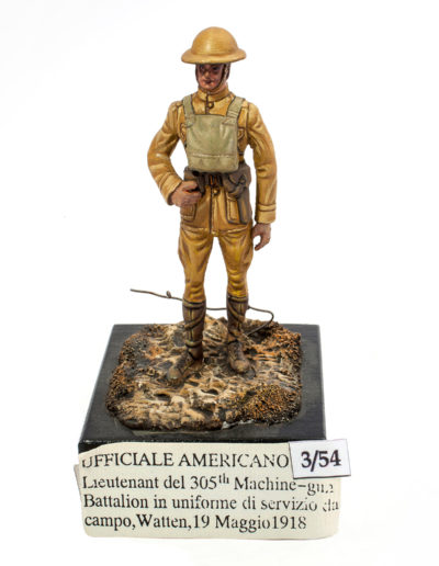 American officer - Watten May 19, 1918