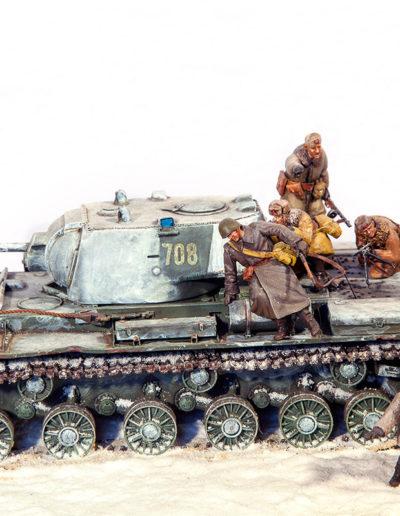 Za Rodinu - fronte di Kalinin - URSS (gennaio 1943)