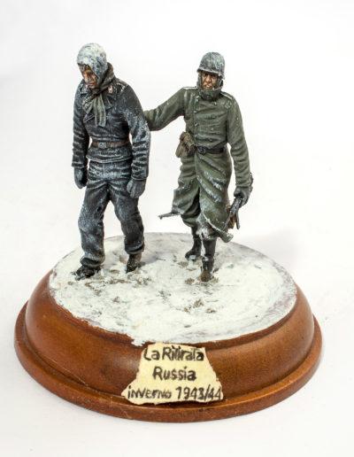 La ritirata. Russia iThe retreat. Russia winter 1943/44nverno 1943/44