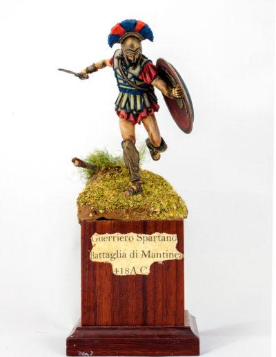 Guerriero spartano - Battaglia di Mantinea (418 A. C.)