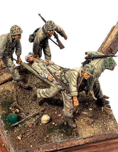 US Marines in Guadalcanal